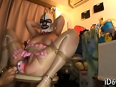Pretty man is having fun with group of sexy and wicked girls