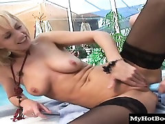 This mature MILF shows you just how naughty older women...