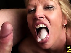 Mature bdsm brit paddled and fucked