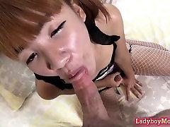 Thai Ladyboy Beau Gets Fucked Bareback