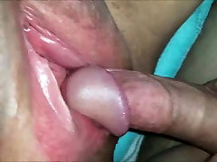 Amateur BBW gets her pussy fucked and jizzedA