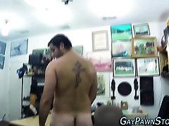 Amateur bear tugging cock