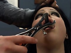 BDSM hardcore action with ropes and adorable sex