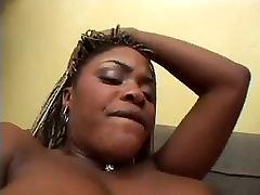 Big Tit Ebony Whore Anal Threesome