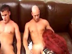 German redhead toilet anuty and girlfriend sharing cocks