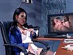 Sex Scene In Office With Slut Hot Busty Girl Cindy Starfall video-30