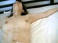 My Tied Asian slave Maudi subject to big vibrator