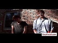Bukkake Boys - Gay Hardcore Sex from www.GayzFacial.com 12