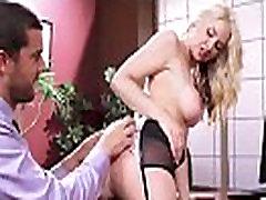 sarah vandella Big Boobs Girl Enjoy hard Style Sex In Office clip-26