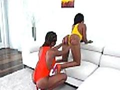 Indigo Vanity &amp Tara Fox Oiled On Her Big Black Ass Girl Enjoy Intercorse movie-13