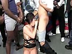 Interracial Blowbang - Nasty Sex Hardcore Party Fuck Movie 19
