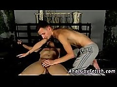 Homemade sex toys for gay xxx Blindfolding the twink, Reece gets