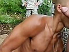 Army men wank and asian naked boys in the army gay Jungle penetrate