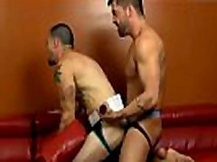 Double gay anal fuck and male chronic masturbation club Uncut Top For