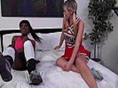 Ebony Lesbian Fuck Her Sexy White Friend Anally With Thick Strapon Toy 03