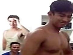 Go See for a Male Bikini Contest Rocco
