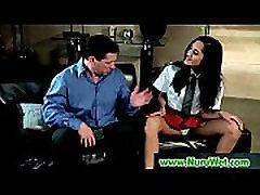 Nuru massage Sex with Busty Japanese Babe 24