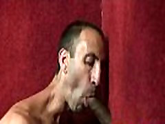 Interracial Gay Handjob And Big Black Cock Sucking Movie 28