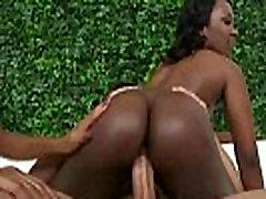 Hot big butt nasty hot ebony slut nailed by white dick 12