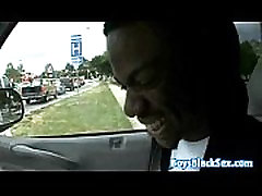 Blacks On Boys - Gay Hardcore Bareback Interracial Porn Video 17