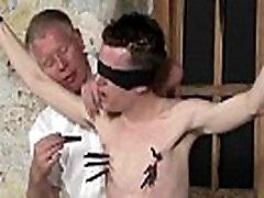 Gay bondage orgasm movietures Sean McKenzie is bound up and at the