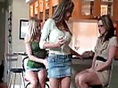 Mature Lesbians Brianna Ray &amp Kristen Cameron &amp Mia Mckinley Play On Camera video-19