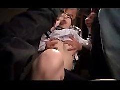Japan Schoolgirl Nailed Hard On The Subway