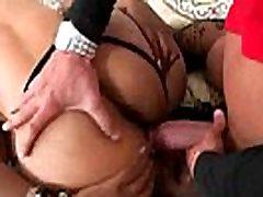 Curvy Black Butt Girl Naomi Gamble On Cam In Hardcore Sex Scene clip-17