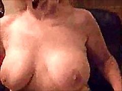 Topless Porn Star Smokes &amp Teases