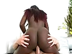 Round And Brown - Sexy Big Butt Ebony Fucked Hard 08