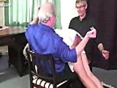Fetishon - spanking video amazing caning harsh