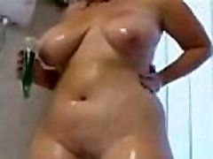 Hot Chubby Plumper Ex GF with Nice Tits Takes Shower - 8bbw.com