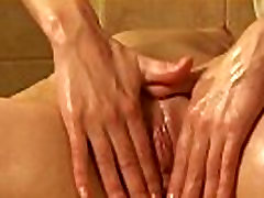 Cute sweetie gapes narrowed pussy and gets deflorated