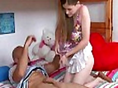 Bent over and fucked teen sex video 21