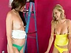 Mature Lesbians Brianna Ray &amp Sovereign Syre Make Love Sex Action clip-27