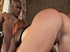Ebony girl bonks her bf
