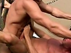 Mature dude barebacks