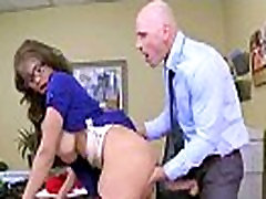 Horny Worker Girl With Big Tits Banged Hard Style In Office cassidy banks vid-20