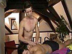 Male homosexual massage