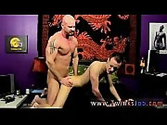 Gay fucking with great boots He glides his manstick into Chris&039 taut