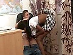 Young Ebony After School Vid&eacuteo porno