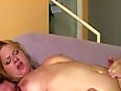 Blonde Cougar Gets Tit Fucked