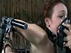 BDSM Slave Mia Electro, Free BDSM Porn Video: xHamster rough - abuserporn.com