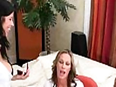 Horny Milfs Make Hot Love Lesbian Sex Scene clip-05