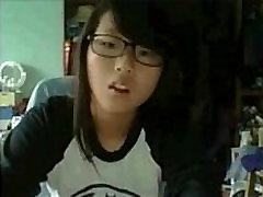 Asian Cutie Flashing Her Pretty Titties