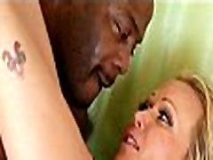 Mom makes son watch her get fucked by big black cock 503