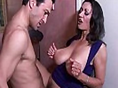 Busty milf Persia Monir gets a creampie