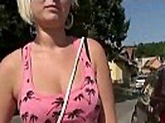 Risky public amateur sex