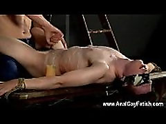 Gay video Wanked And Waxed To The Limit