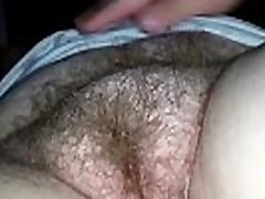 Exploring a Hairy Mature Pussy Up Close